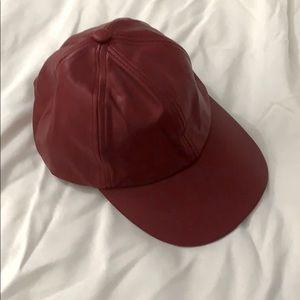 U2B LADIES RED CAP